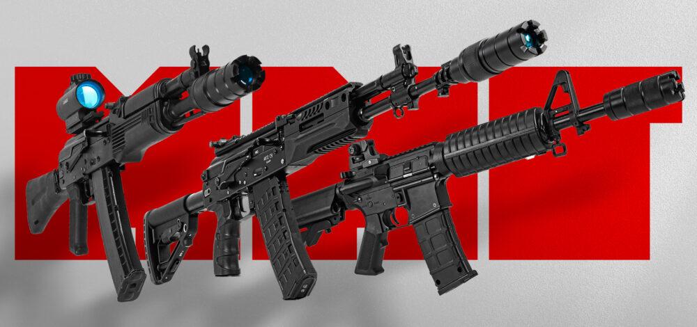 Top 3 puške za laser tag