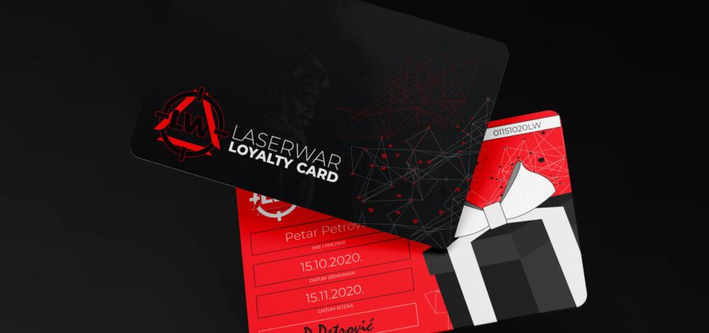 LASERWAR LOYALTY CARD